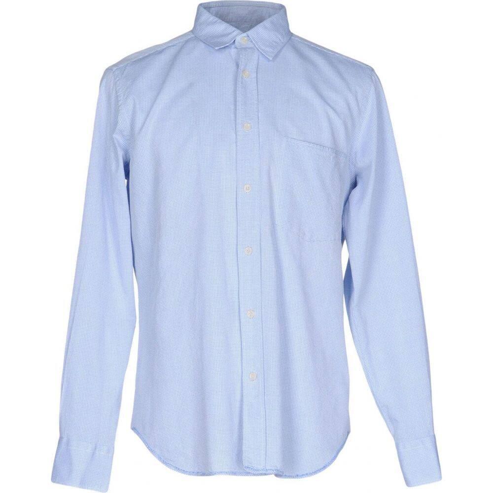 マウロ グリフォーニ MAURO GRIFONI メンズ シャツ トップス【checked shirt】Azure