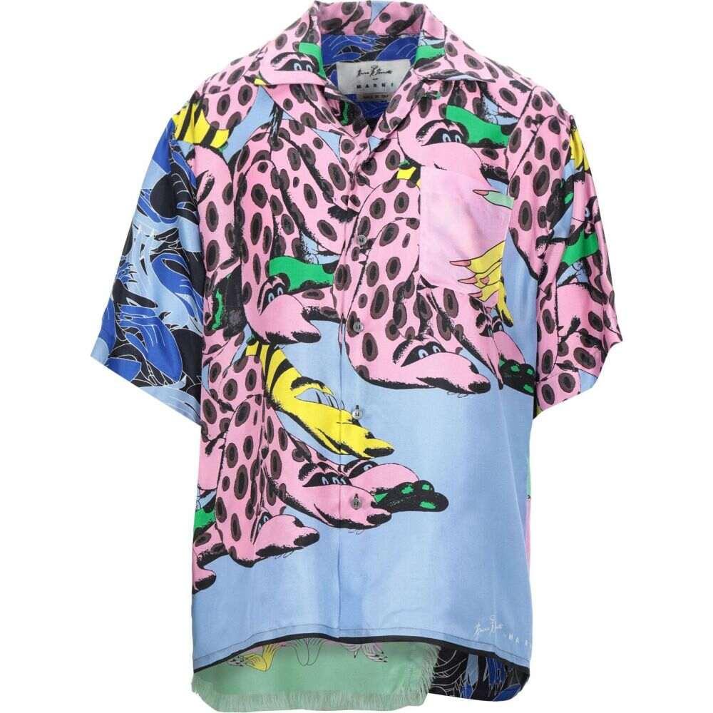 マルニ MARNI メンズ シャツ トップス【patterned shirt】Pink