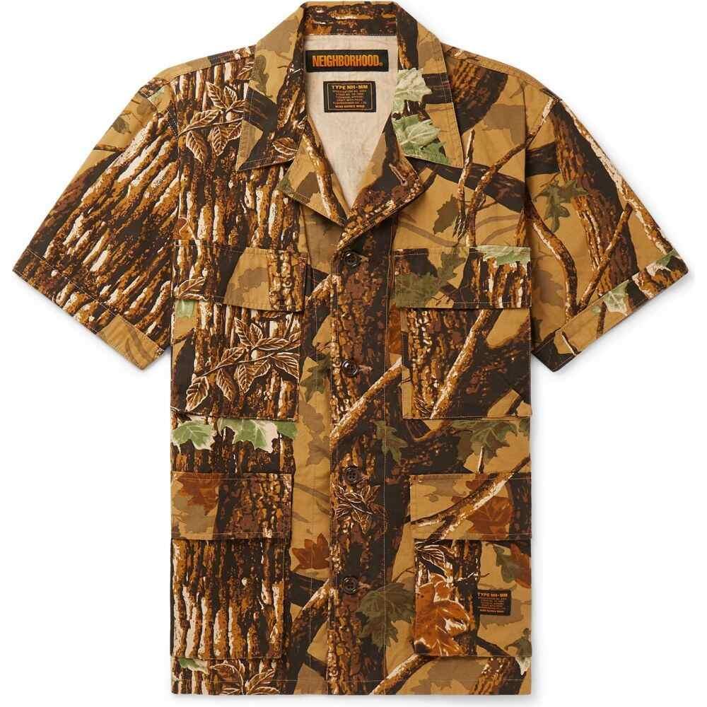 ネイバーフッド NEIGHBORHOOD メンズ シャツ トップス【patterned shirt】Brown