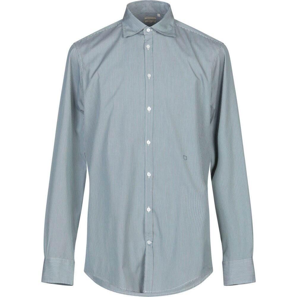 マッシモ アルバ MASSIMO ALBA メンズ シャツ トップス【striped shirt】Green