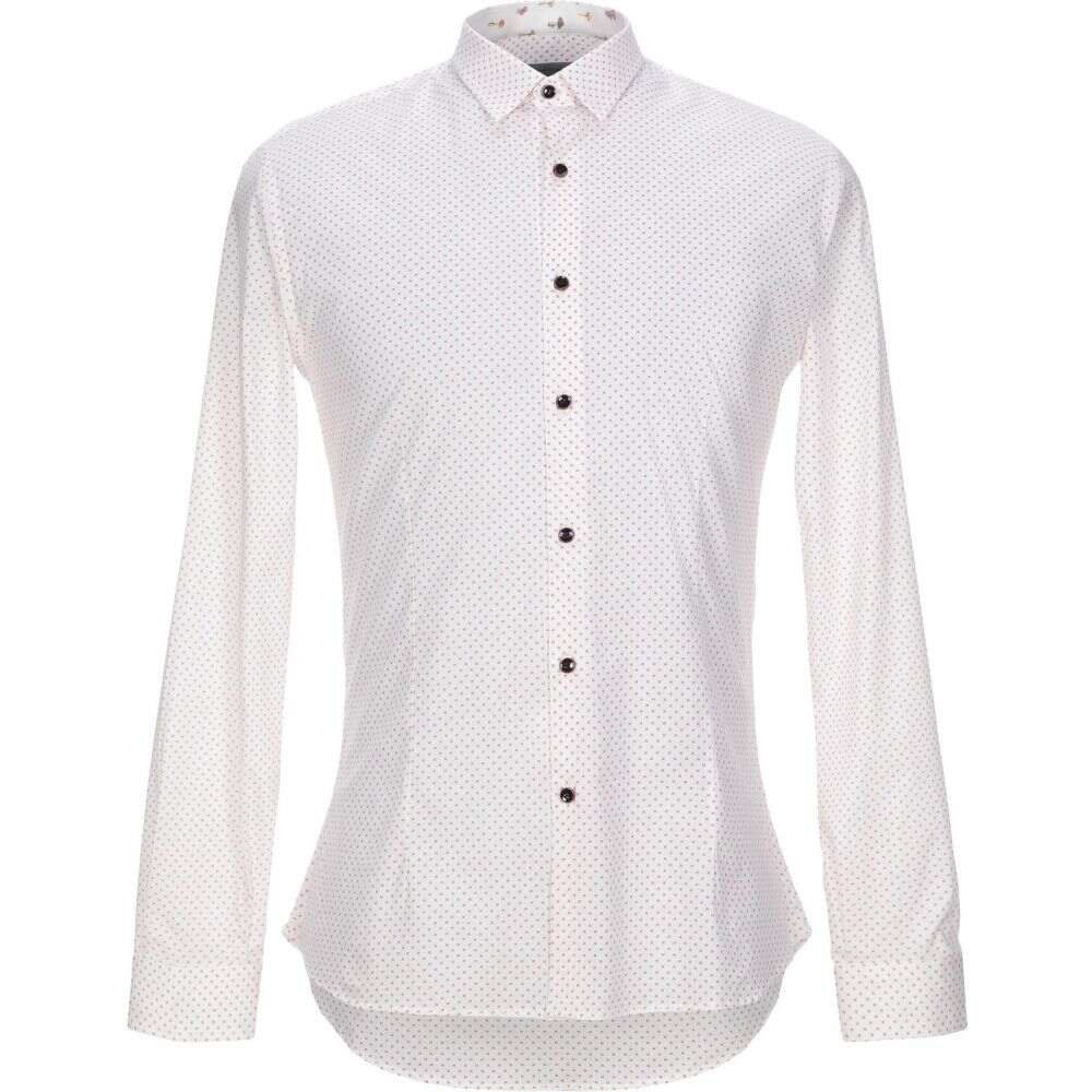 ニール カッター NEILL KATTER メンズ シャツ トップス【patterned shirt】White