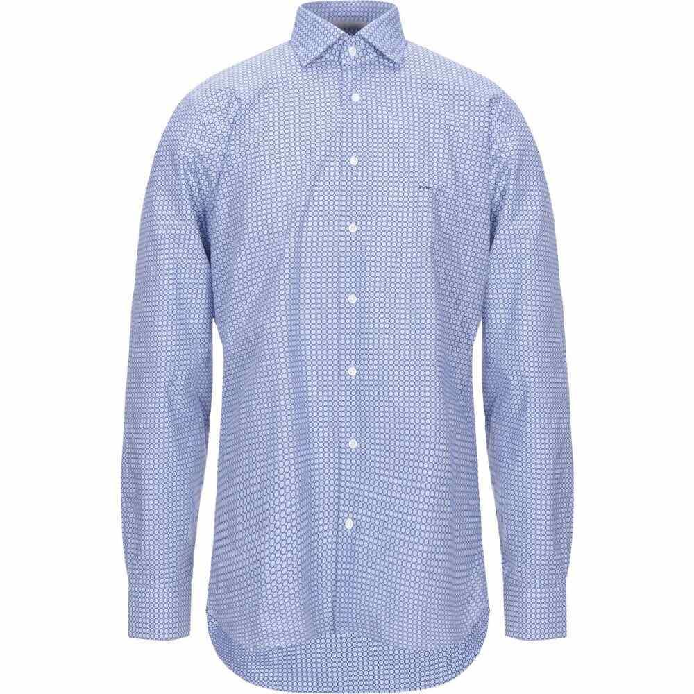 マイケル コース MICHAEL KORS MENS メンズ シャツ トップス【patterned shirt】Azure