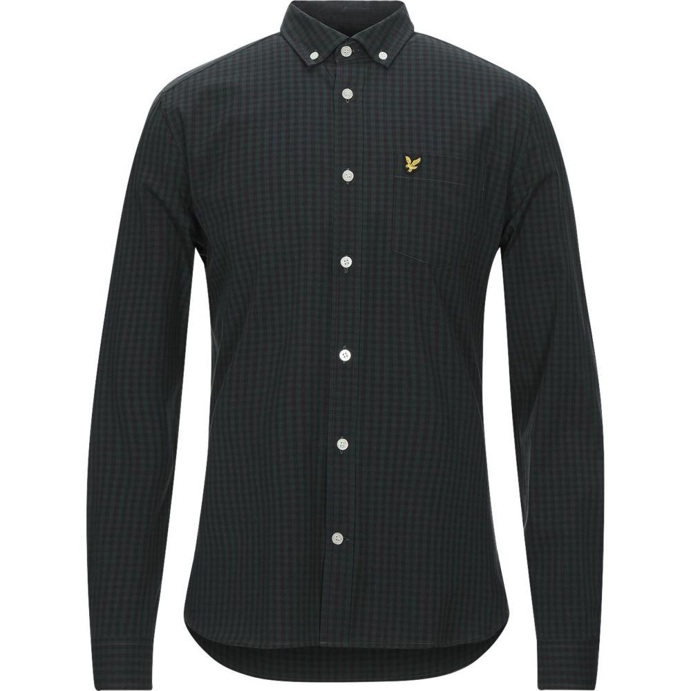 ライル アンド スコット LYLE & SCOTT メンズ シャツ トップス【checked shirt】Green