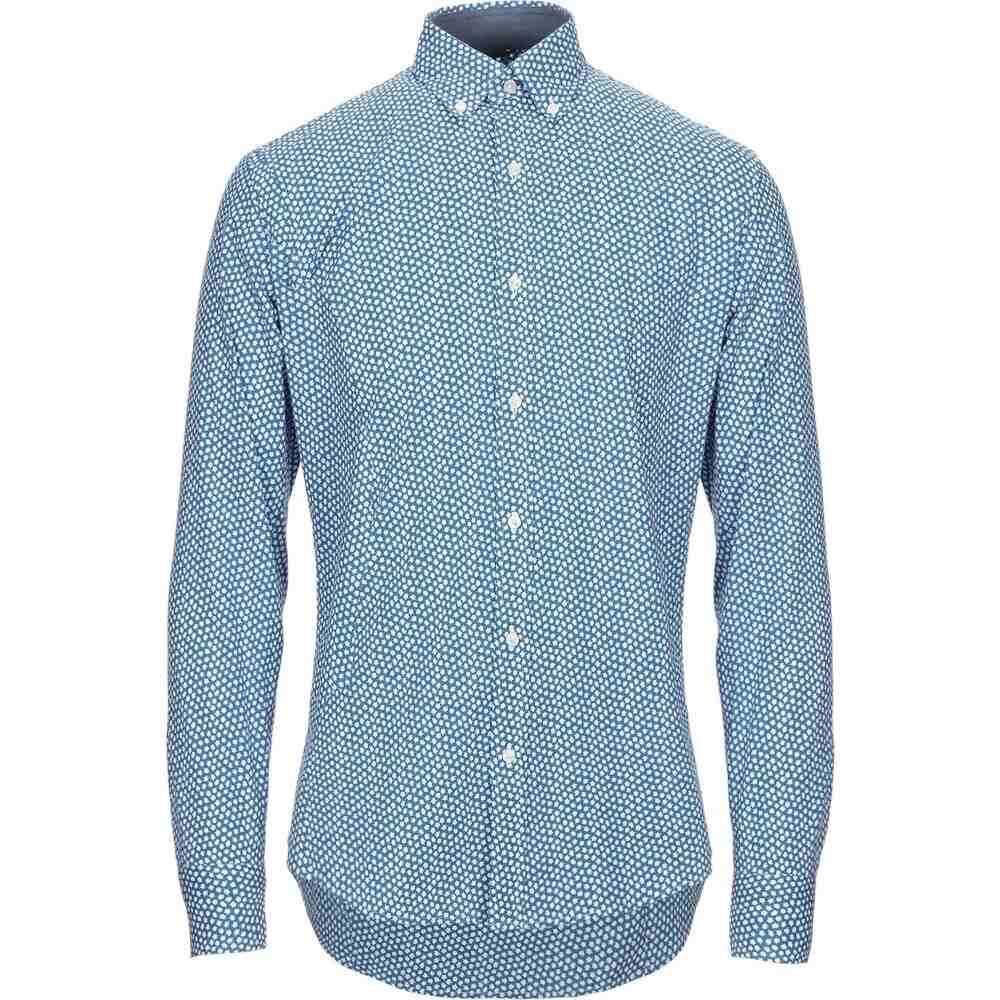 マイケル コース MICHAEL KORS MENS メンズ シャツ トップス【patterned shirt】Blue