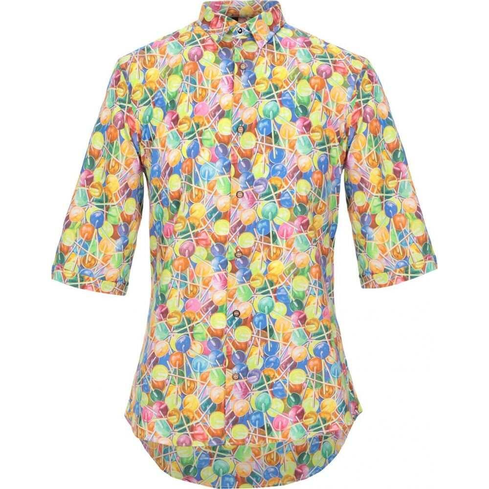 ニール カッター NEILL KATTER メンズ シャツ トップス【patterned shirt】Yellow