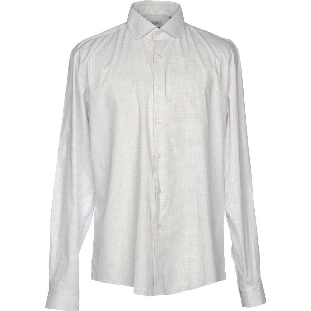 リウジョー LIU JO MAN メンズ シャツ トップス【patterned shirt】Light grey