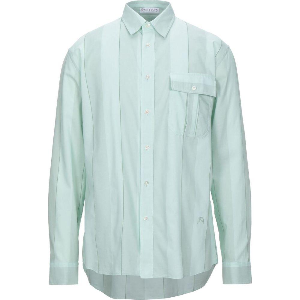 J.W.アンダーソン JW ANDERSON メンズ シャツ トップス【striped shirt】Light green