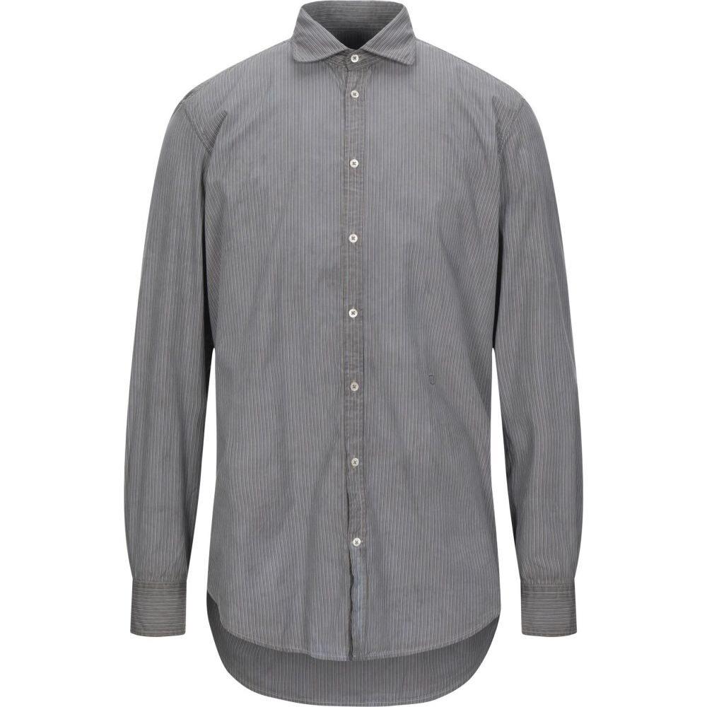 マッシモ アルバ MASSIMO ALBA メンズ シャツ トップス【striped shirt】Grey