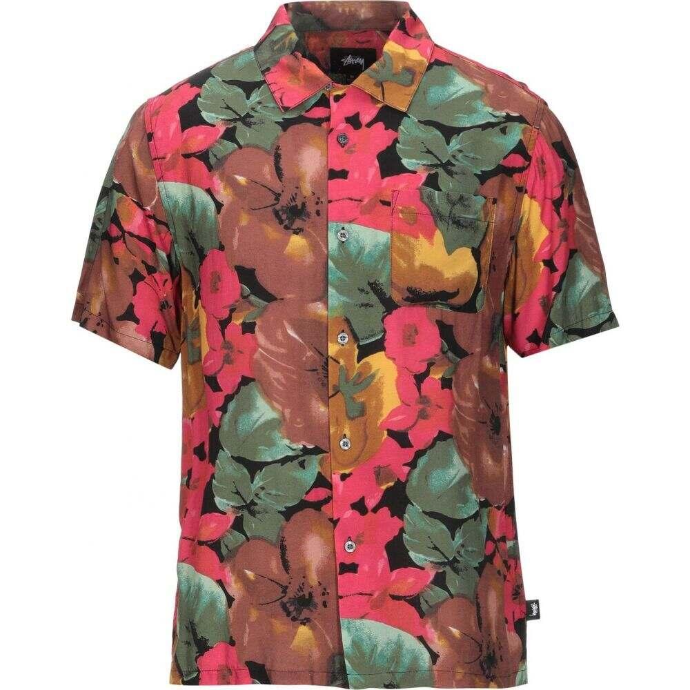 オベイ OBEY メンズ シャツ トップス【patterned shirt】Brown