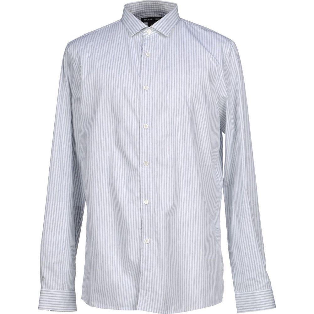 マイケル コース MICHAEL KORS MENS メンズ シャツ トップス【striped shirt】Light grey
