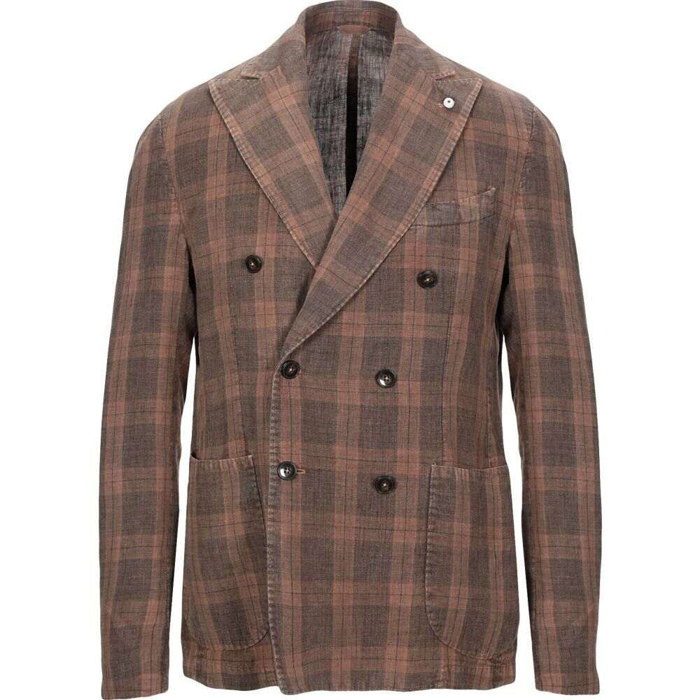 ブランド BRANDO メンズ スーツ・ジャケット アウター【blazer】Brown