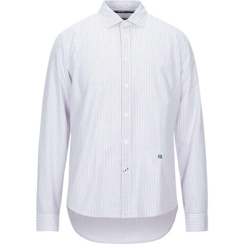 ペペジーンズ PEPE JEANS メンズ シャツ トップス【striped shirt】White:フェルマート