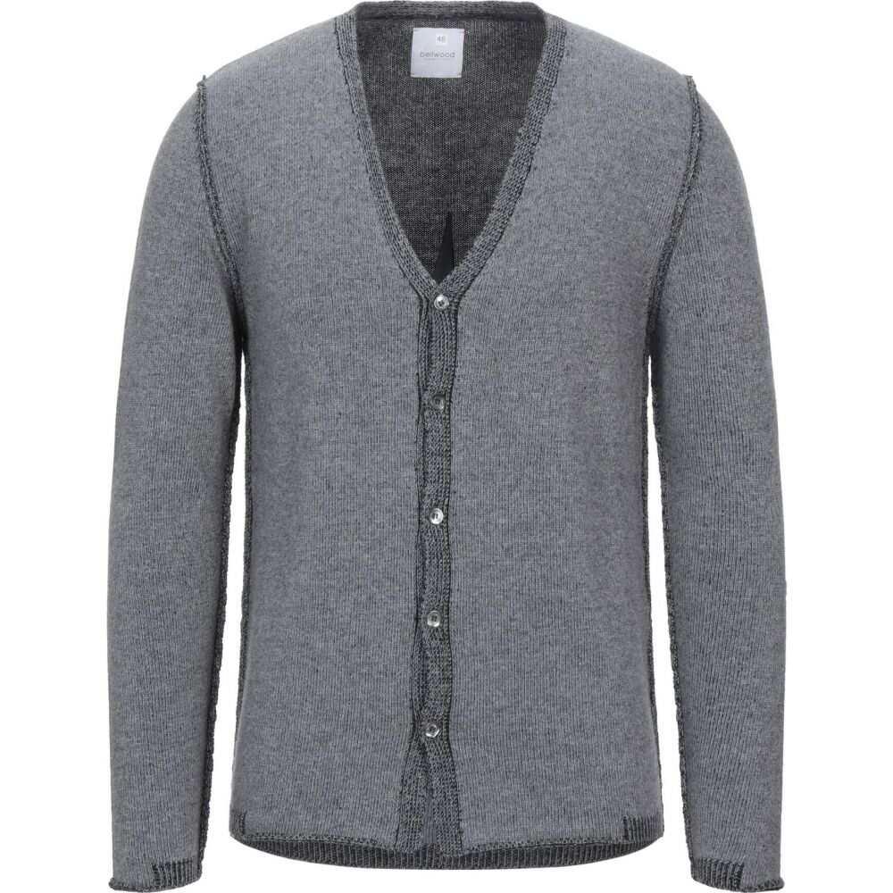 ベルウッド BELLWOOD メンズ カーディガン トップス【cardigan】Grey:フェルマート
