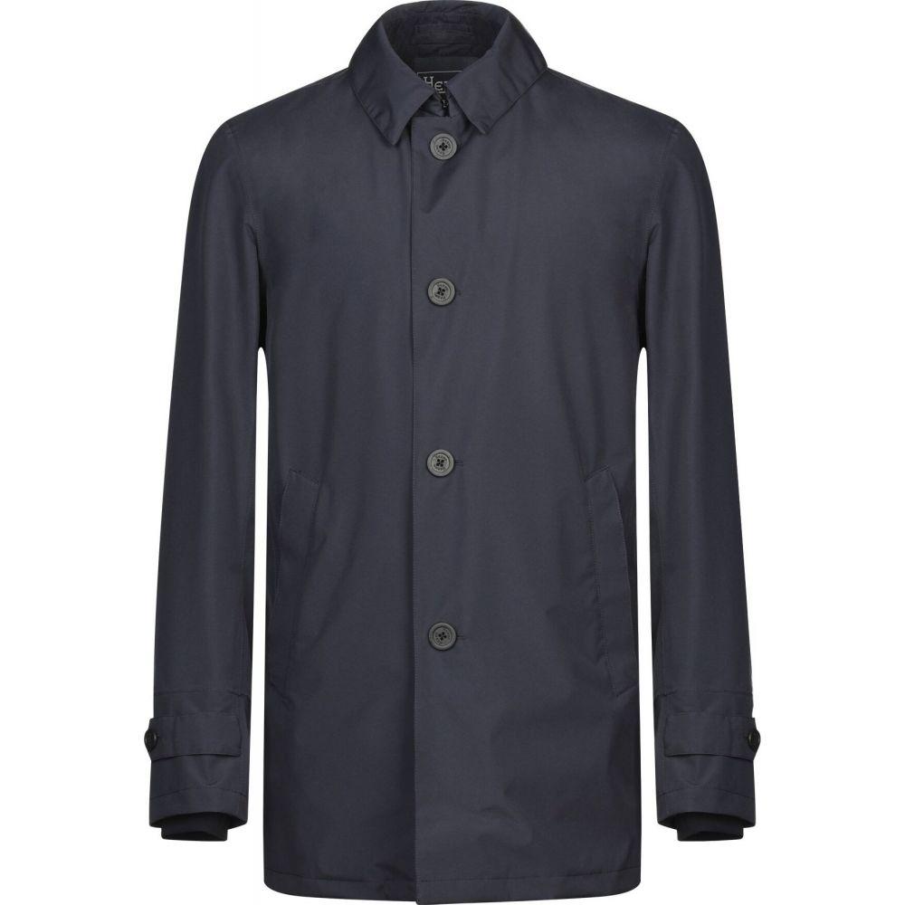 ヘルノ HERNO メンズ コート アウター【full-length jacket】Dark blue