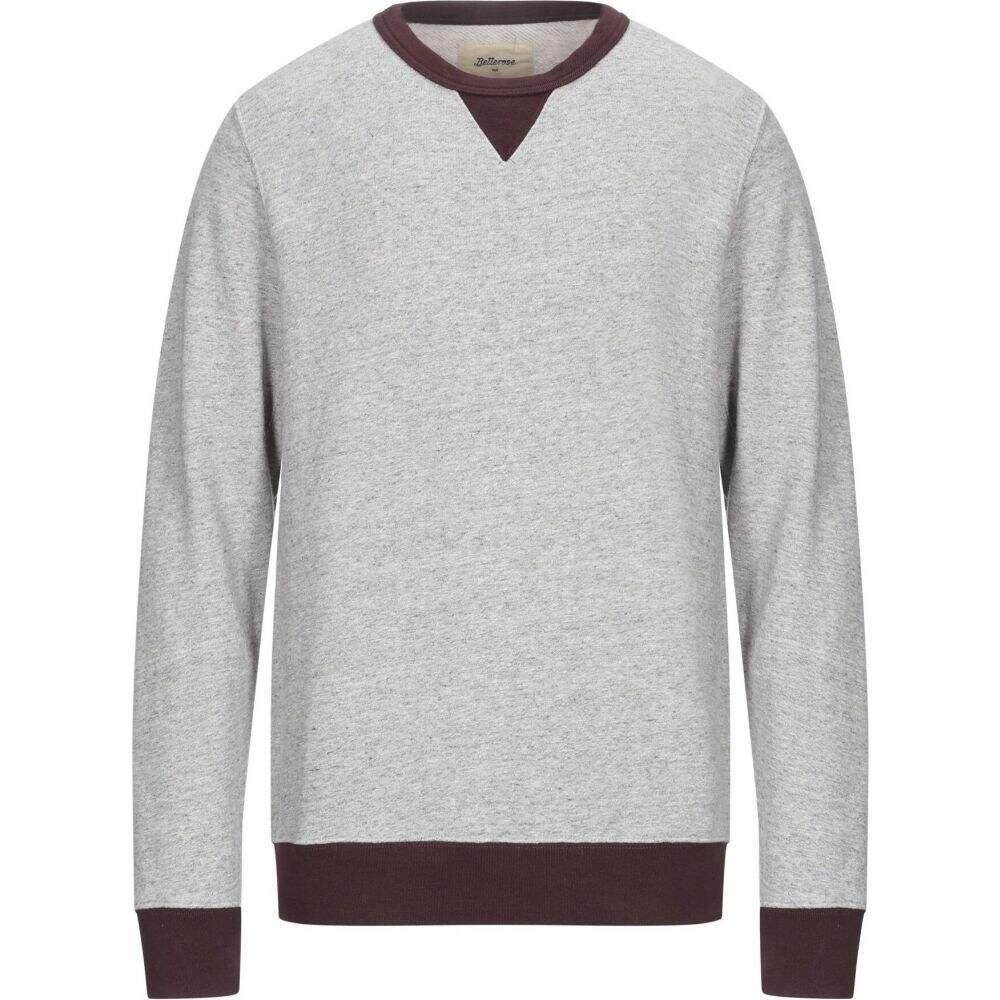 ベルローズ BELLEROSE メンズ スウェット・トレーナー トップス【sweatshirt】Light grey
