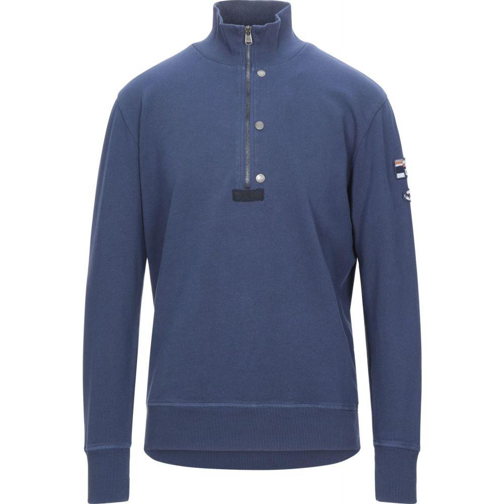 ペペジーンズ PEPE JEANS メンズ スウェット・トレーナー トップス【sweatshirt】Slate blue
