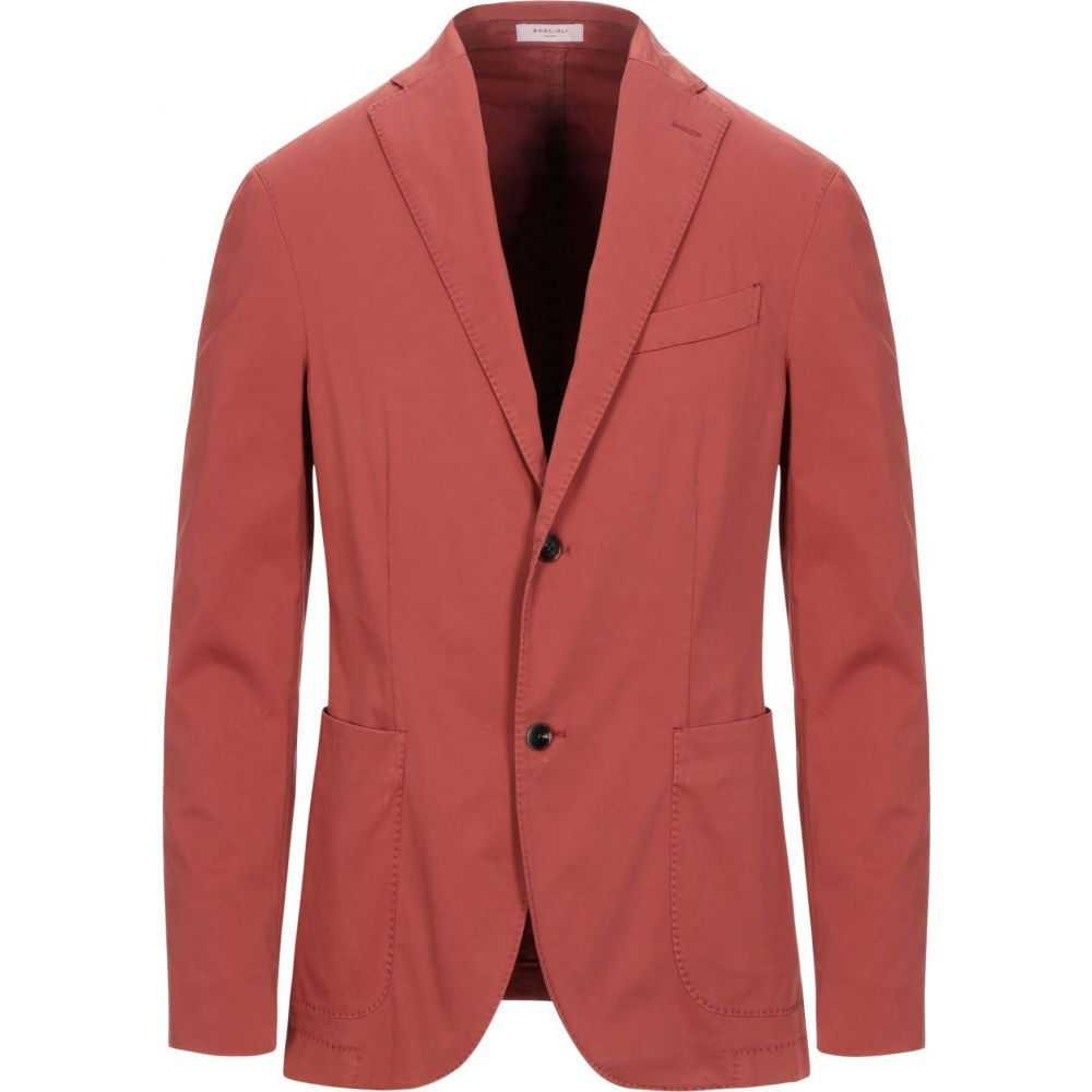 ボリオリ BOGLIOLI メンズ スーツ・ジャケット アウター【blazer】Brick red