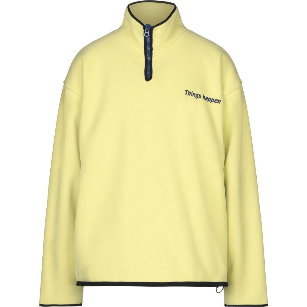 ボンサイ BONSAI メンズ スウェット・トレーナー トップス【sweatshirt】Yellow