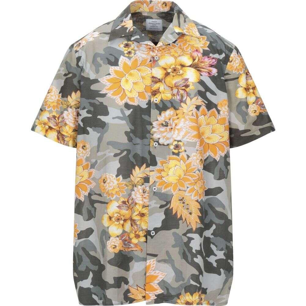 ボンブーギー BOMBOOGIE メンズ シャツ トップス【patterned shirt】Green:フェルマート