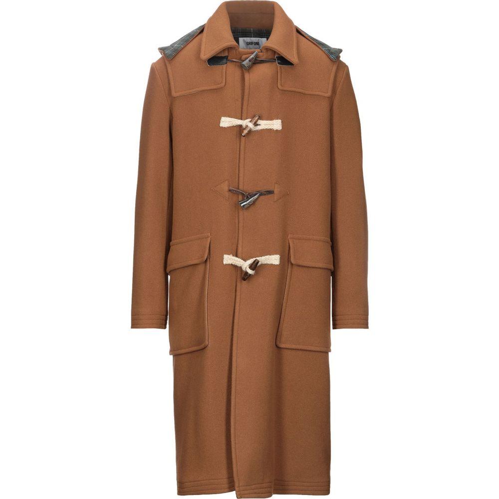 マウロ グリフォーニ MAURO GRIFONI メンズ コート アウター【coat】Camel