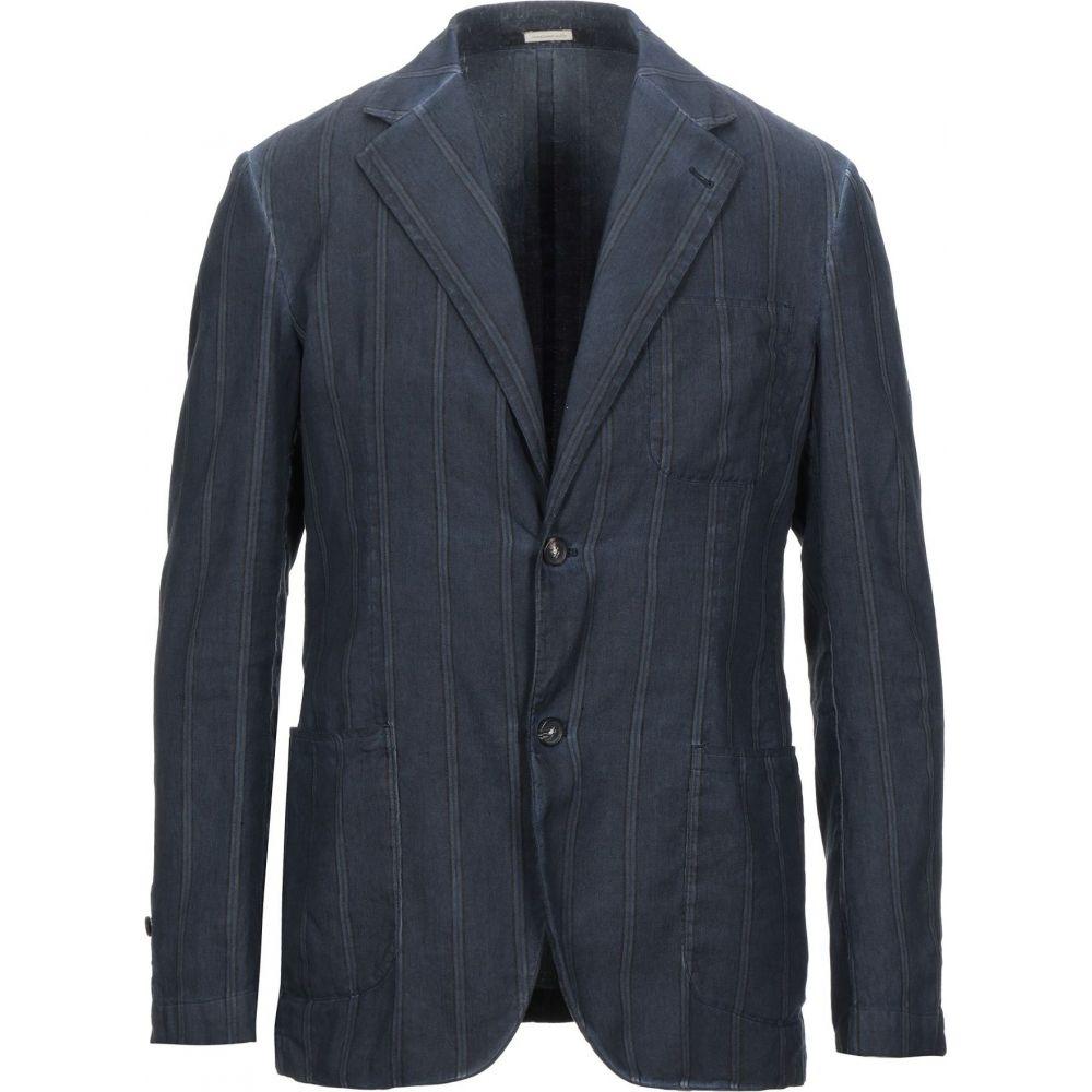 マッシモ アルバ MASSIMO ALBA メンズ スーツ・ジャケット アウター【blazer】Dark blue