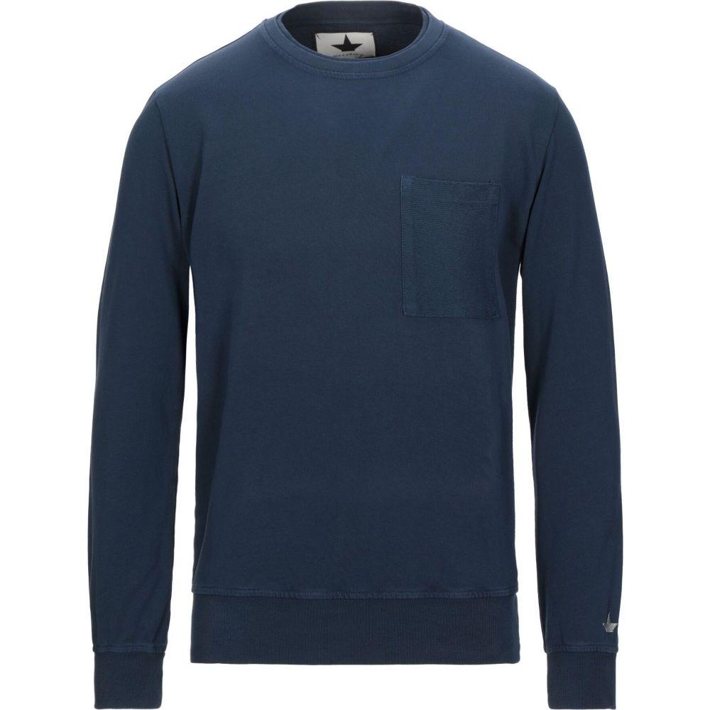 マッキアジェイ MACCHIA J メンズ スウェット・トレーナー トップス【sweatshirt】Dark blue