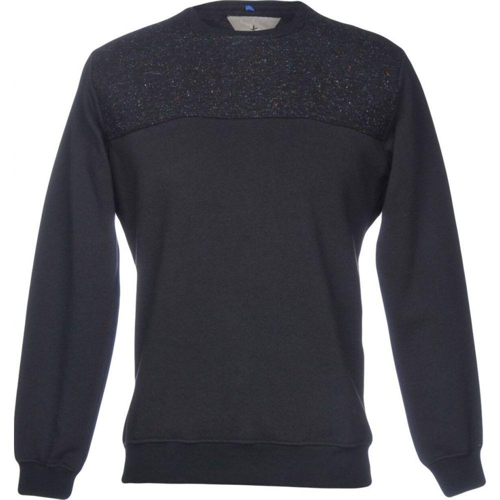 マッキアジェイ MACCHIA J メンズ スウェット・トレーナー トップス【sweatshirt】Black