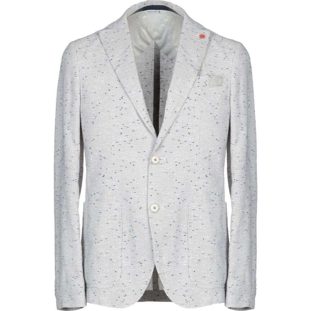 リッツ メンズ アウター【blazer】Light grey MANUEL マニュエル スーツ・ジャケット RITZ