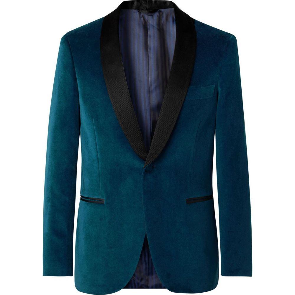 マッシモ ピオンボ MP MASSIMO PIOMBO メンズ スーツ・ジャケット アウター【blazer】Deep jade