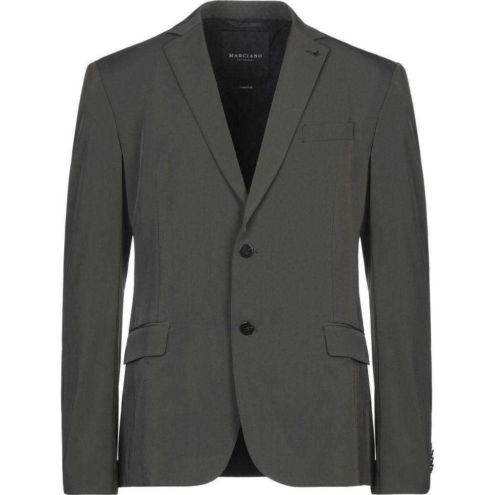 マルシアーノ メンズ SALENEW大人気 アウター スーツ 返品交換不可 ジャケット green blazer Military MARCIANO サイズ交換無料