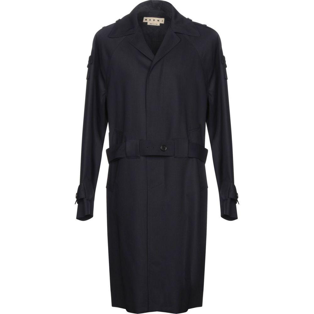 マルニ MARNI メンズ コート アウター【full-length jacket】Dark blue