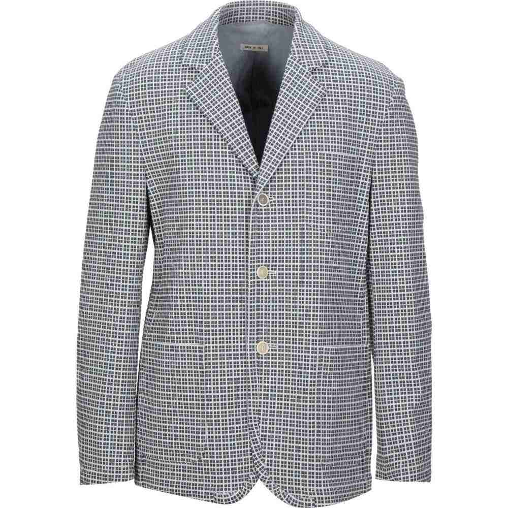 マルニ MARNI メンズ スーツ・ジャケット アウター【blazer】Steel grey