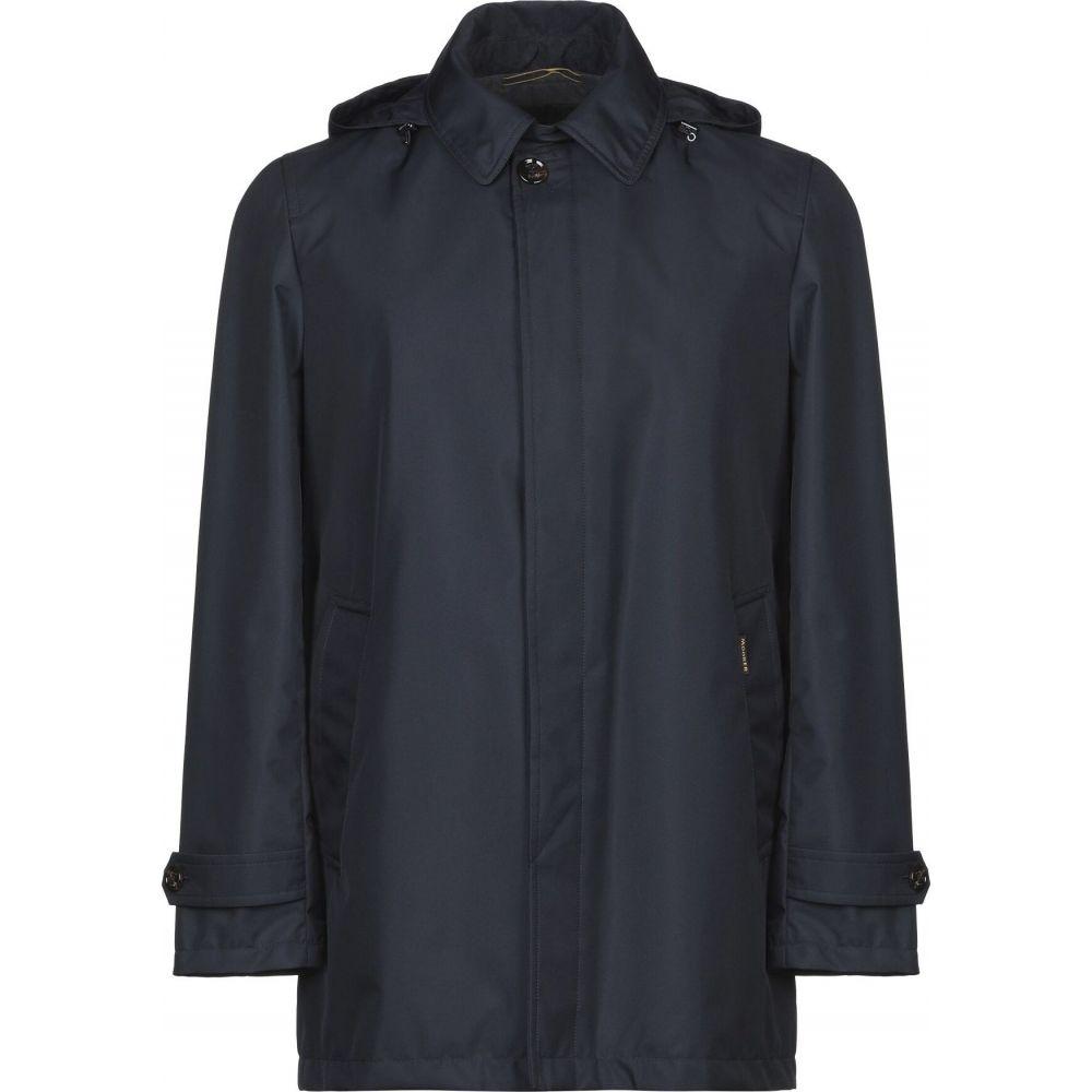ムーレー MOORER メンズ コート アウター【full-length jacket】Dark blue