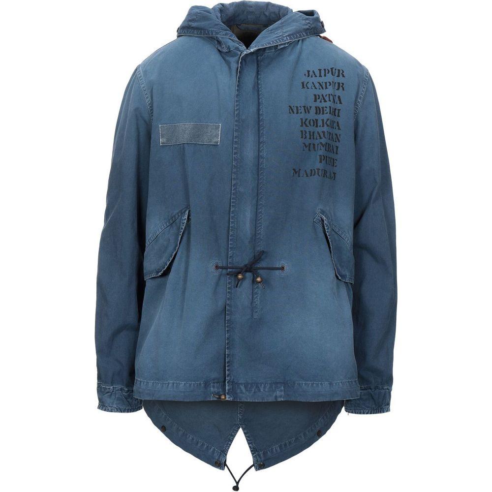 ミスター&ミセス イタリー MR & MRS ITALY メンズ コート アウター【full-length jacket】Blue