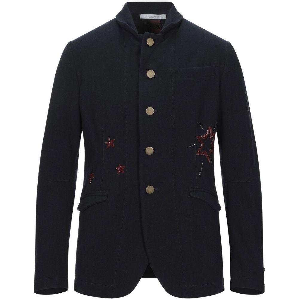 メッサジェリエ MESSAGERIE メンズ スーツ・ジャケット アウター【blazer】Dark blue