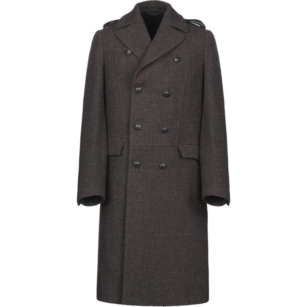 メッサジェリエ MESSAGERIE メンズ コート アウター【coat】Steel grey