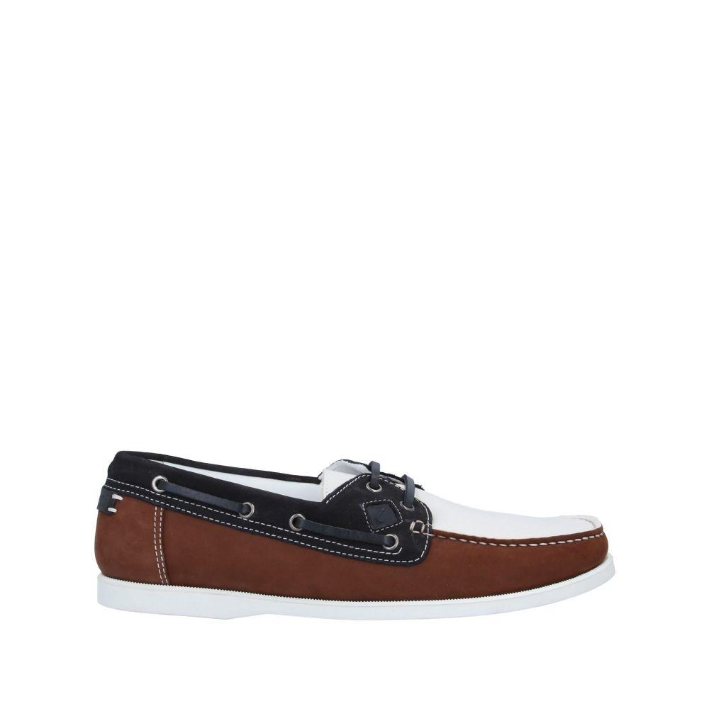 ア テストーニ A.TESTONI メンズ ローファー シューズ・靴【loafers】Brown