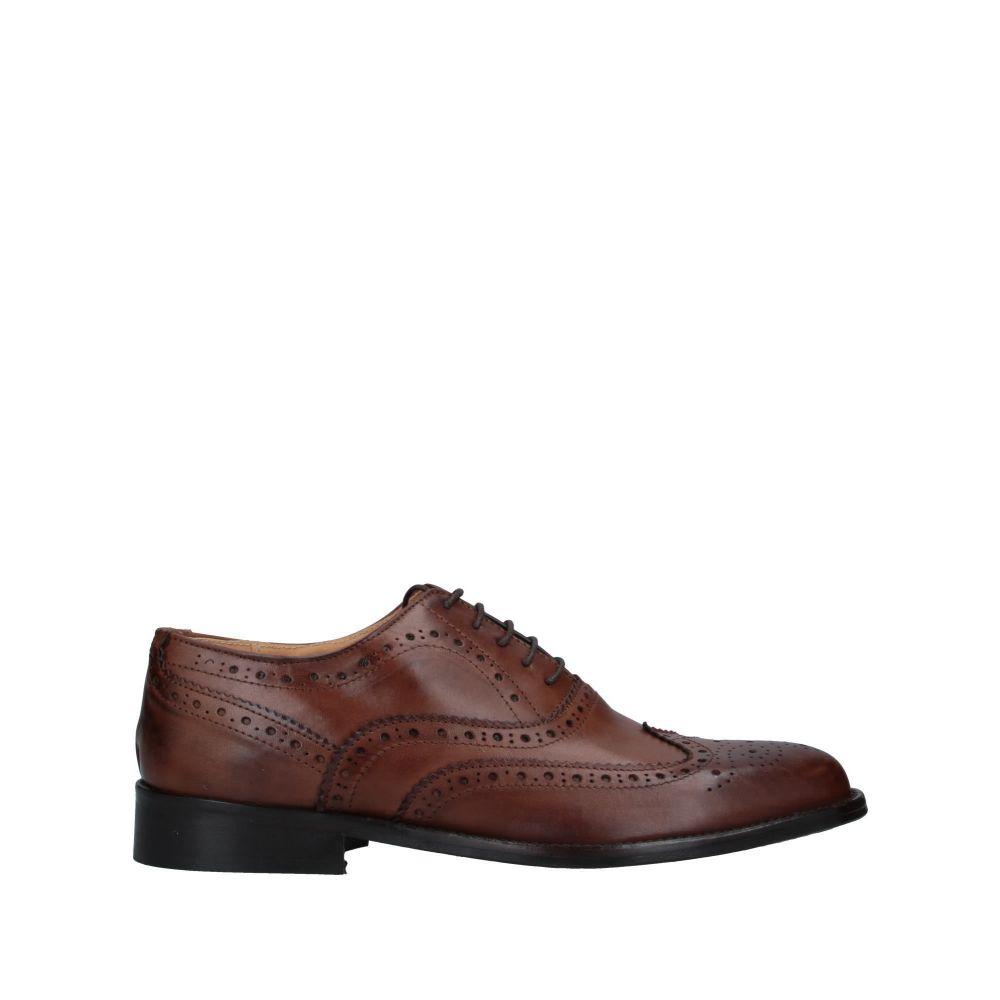 TSD12 メンズ シューズ・靴 【laced shoes】Brown