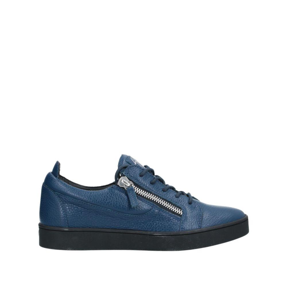 ジュゼッペ ザノッティ GIUSEPPE ZANOTTI メンズ スニーカー シューズ・靴【sneakers】Dark blue