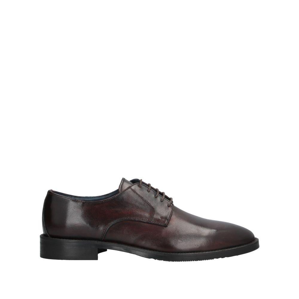 ジャンフランコ ラッタンツィ GIANFRANCO LATTANZI メンズ シューズ・靴 【laced shoes】Dark brown