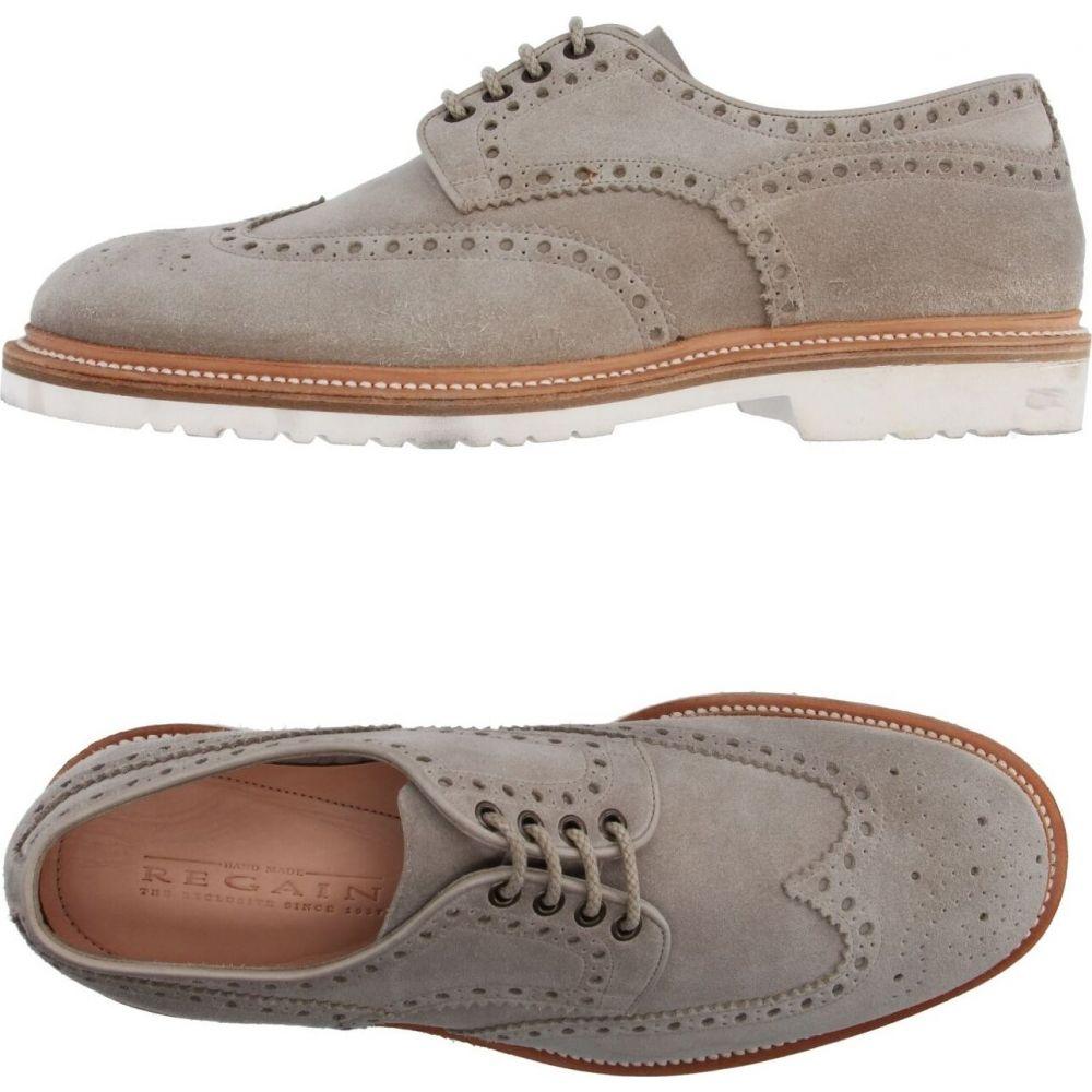 リゲイン REGAIN メンズ シューズ・靴 【laced shoes】Light grey
