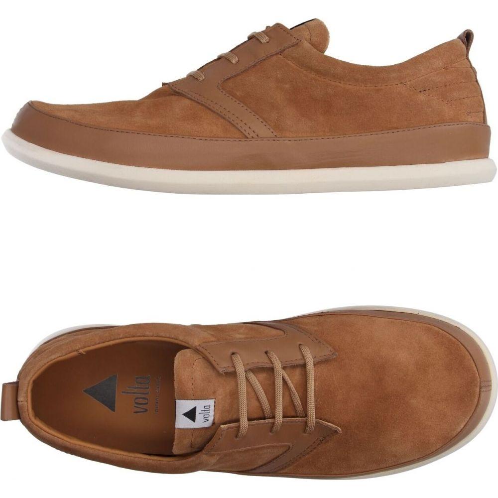 ボルタ VOLTA メンズ シューズ・靴 【laced shoes】Camel