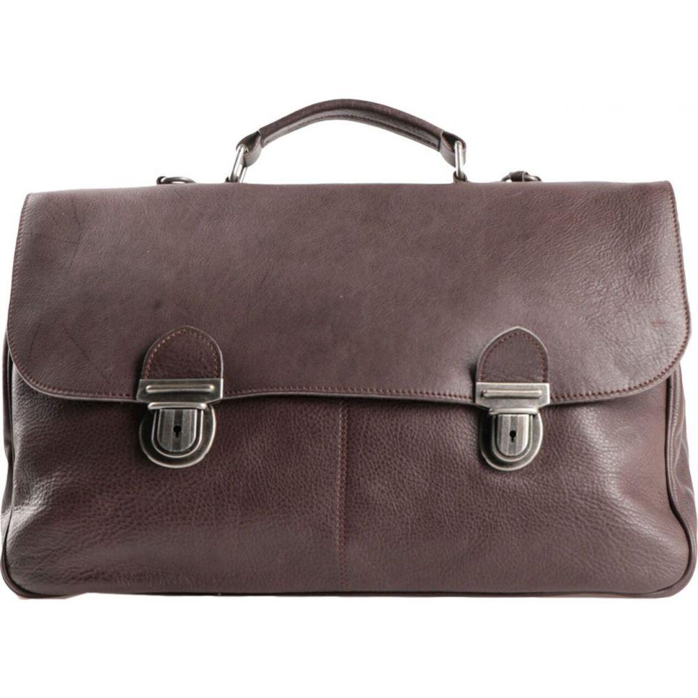 ミノロンゾーニ MINORONZONI メンズ バッグ 【work bag】Dark brown