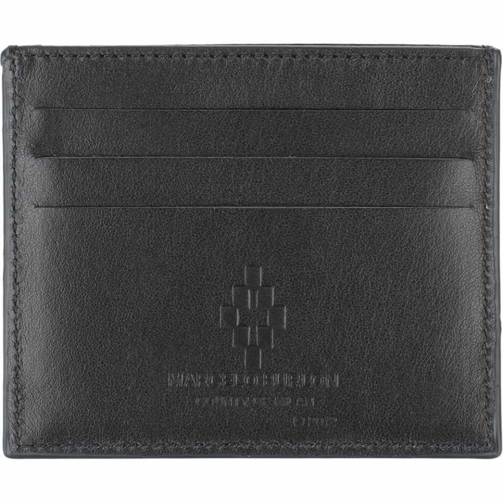 マルセロバーロン MARCELO BURLON メンズ ビジネスバッグ・ブリーフケース バッグ【document holder】Black