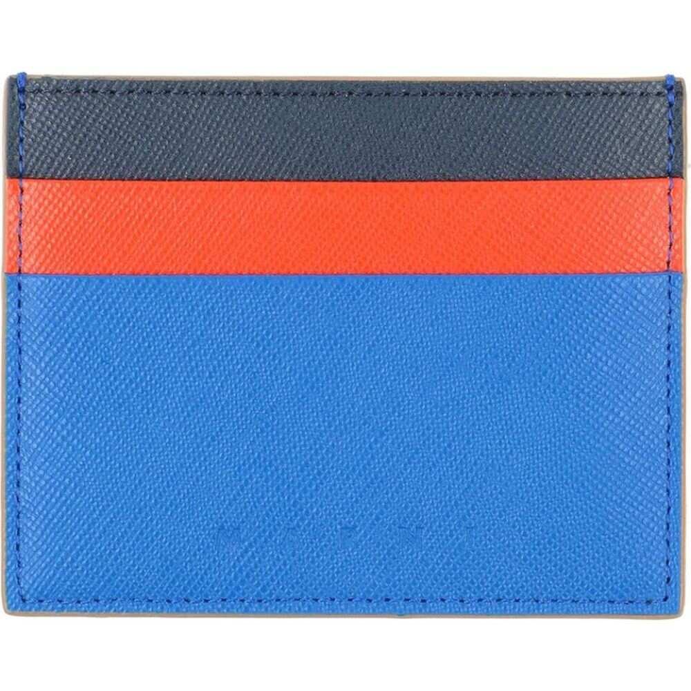 マルニ MARNI メンズ ビジネスバッグ・ブリーフケース バッグ【document holder】Blue