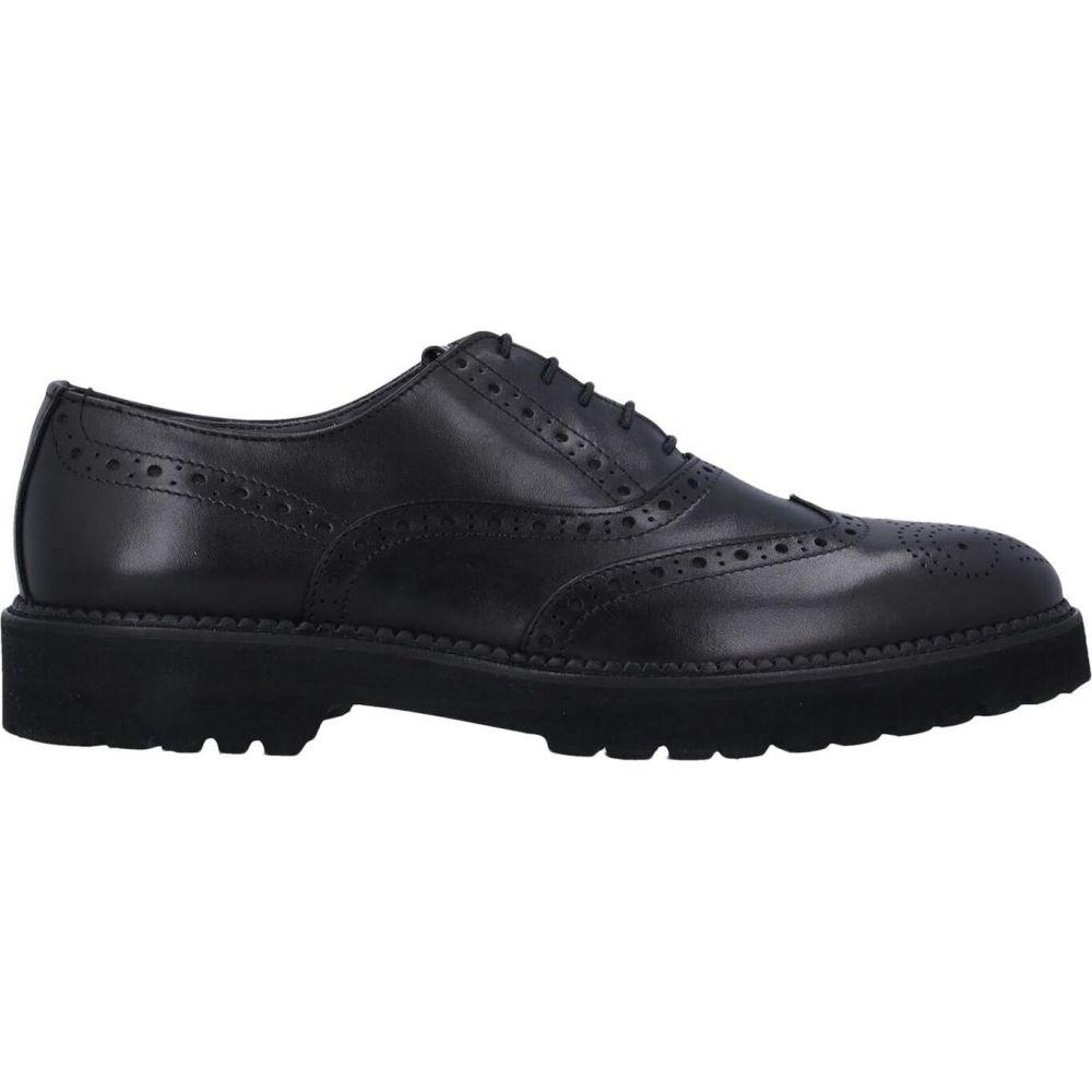 shoes】Black POLLINI ポリーニ シューズ・靴 【laced メンズ