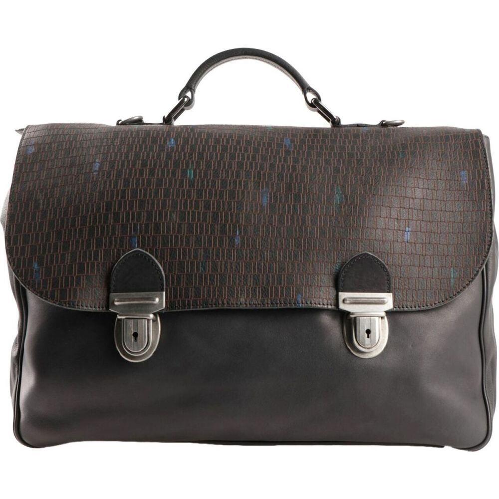 ミノロンゾーニ MINORONZONI メンズ バッグ 【work bag】Black