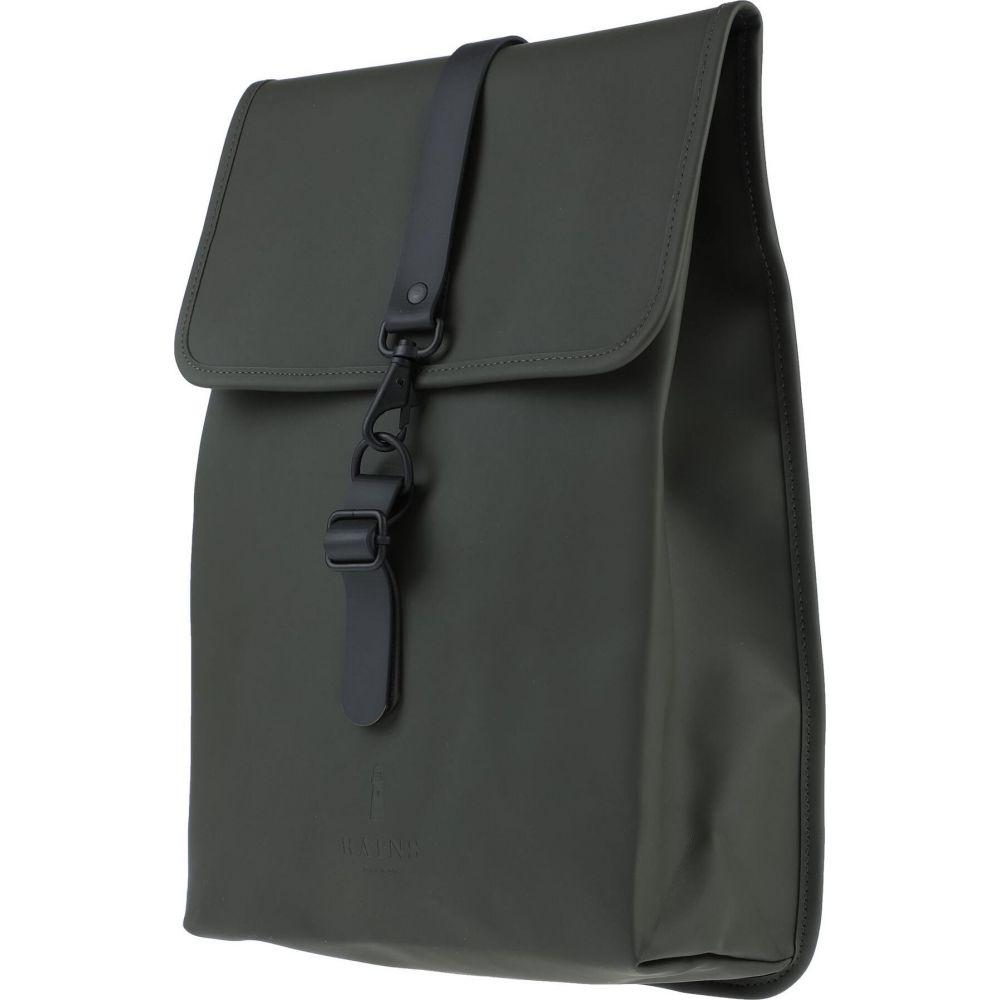 レインズ RAINS メンズ バッグ 【backpack & fanny pack】Dark green