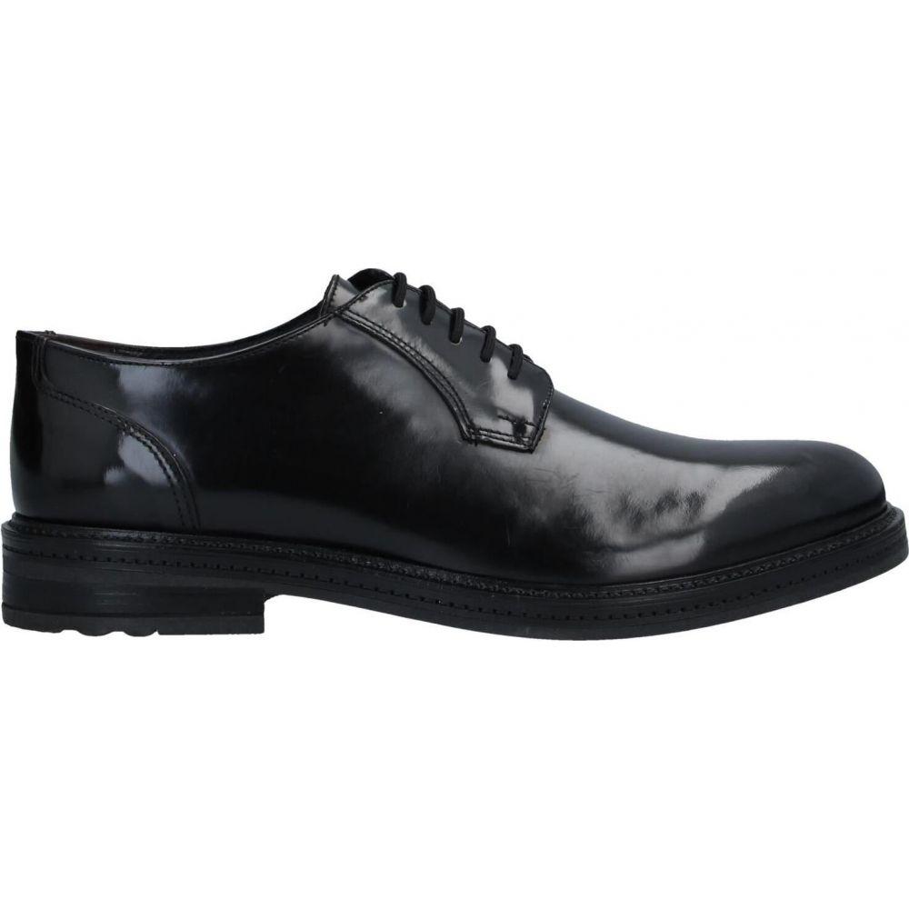 ロベルト デラ クローチェ ROBERTO DELLA CROCE メンズ シューズ・靴 【laced shoes】Black
