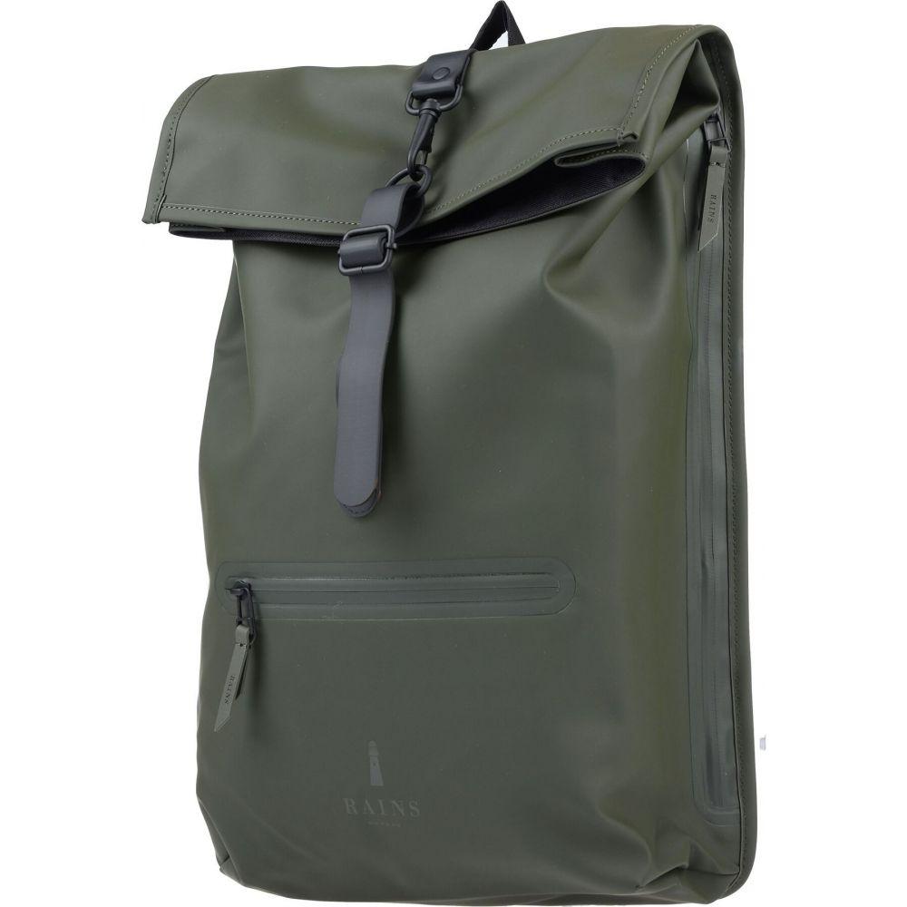 レインズ RAINS メンズ バッグ 【backpack & fanny pack】Military green